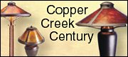 copper creek and century arts and crafts lights