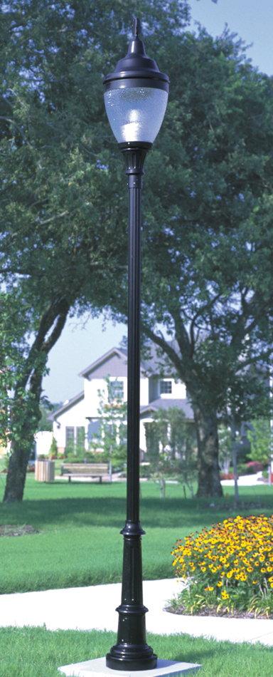 Vintage Look Lamp Post