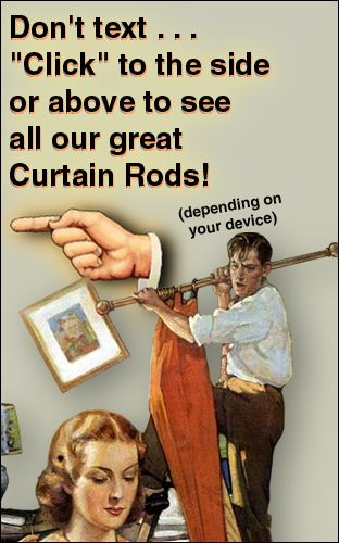craftsman curtain rods