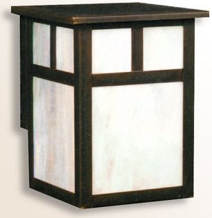 Pine Grove arts and crafts style wall sconce