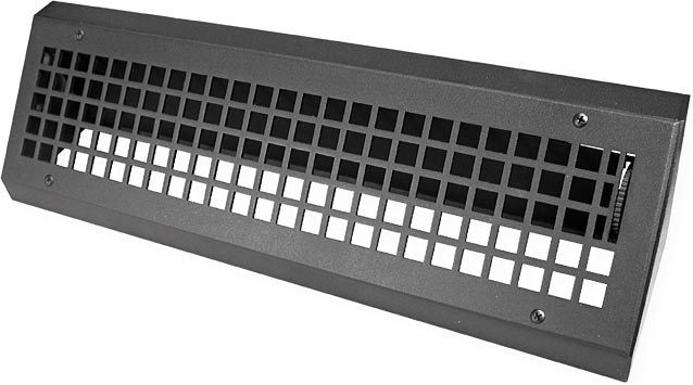 Metal Baseboard Front View